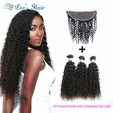 Weft Straight Hair Extensions with 3 Bundles