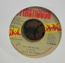 "Lilly Melody(7"" Vinyl)No Problem-Firehouse-Jamaica-Ex/VG"