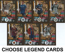 Match Attax Champions League 20/21- Choose Legend Cards - Xavi - Del Piero Etc