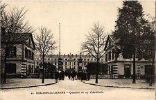 CPA MILITAIRE Chalons sur Marne-Quartier du 25e d'Artillerie (317682)