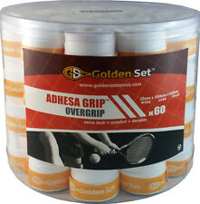 Adhesa Tacky Overgrip Bucket White (60 Total)