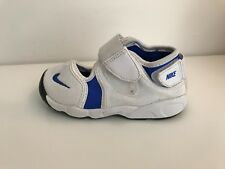 NIKE AIR RIFT WHITE BLUE  TRAINERS SHOES VERY GOOD CONDITION SIZE UK 6.5K