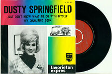 DUSTY SPRINGFIELD Just Don't know What to do with Myself DUTCH Fav Expres PS 7""
