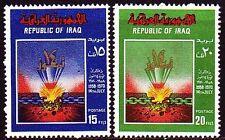 Irak Iraq 1970 ** Mi.619/20 Revolution