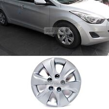 "OEM Genuine Parts 15"" Wheel Cover Silver 5hole 1P for HYUNDAI 11-16 Elantra MD"