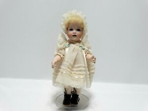"""Adorable JDK 237 Kestner Reproduction Bisque Head 10"""" Doll"""