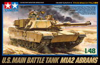 Tamiya M1A2 Abrams US Main battle Tank 1/48 tank plastic model kit new 32592