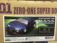 ABC Hobby NISSAN Silvia S13 Aero Custom Ver. 205mm Body 1:10 RC Car Drift #66161