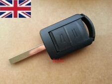 For VAUXHALL Corsa C Meriva Combo Opel Remote Key Fob Shell Case 2 Button +Blade