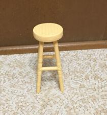 Barbie Cali Girl Hawaii Resort Faux Wicker Bamboo Chair Stool Furniture Rare