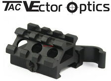 "Vector Quick Release 3/4"" Riser Mount Base Top & Offset Picatinny Rail 1 3/5"" L"