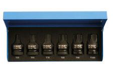 LASER Tools 4947 Impatto Aria Stella Torx Bit impostato su 1/2 Drive T55 T60 T70 T90 T100