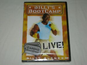 Billy's Boot Camp - Cardio Boot Camp - Live - Brand New & Sealed - All Reg - DVD