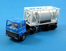 Herpa 805220 Ford Transcontinental Tanque Container Semirremolque Contrans 1:87