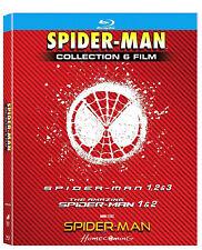 SPIDER-MAN COLLEZIONE COMPLETA 6 FILM (6 BLU-RAY + GADGET) Spider-man Homecoming