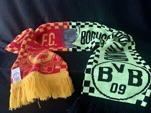 Alter Schal Borussia Dortmund Liverpool 2001 Champions League BVB für Sammler