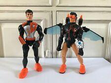 👿 Deux Figurines Action Man Atom Année 2006 Hasbro