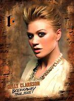 KELLY CLARKSON 2005 BREAKAWAY TOUR CONCERT PROGRAM BOOK / BOOKLET / NMT 2 MINT