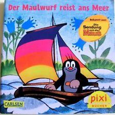 Pixi Buch Nr. 1902-Der Maulwurf reist ans Meer  -4. Aufl.2016 - Bücher-Sammlung