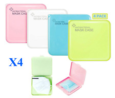 PORTABLE ANTIBACTERIAL MASK CASE ORGANIZER X4