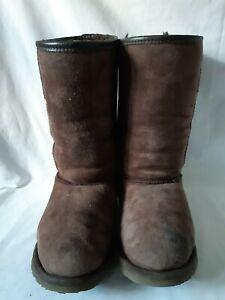 Celt Sheepskin Boots Size 7