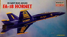 MINICRAFT 1:72 KIT AEREO US NAVY BLUE ANGELS FA - 18 HORNET ART 11624