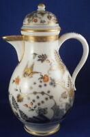 Antique 18thC Meissen Porcelain Ferner Hausmaler Coffee Pot Porzellan Kanne