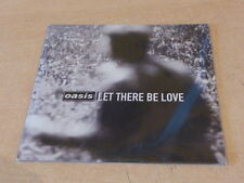 OASIS - LET THERE BE LOVE -  82876 75186 2 PROMO CD!!!!!!!!!!!!!!!