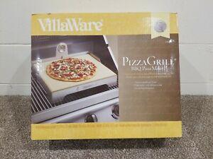 VillaWare Pizza Grill (Grill / Oven) Pizza Stone BBQ internal Thermometer. New