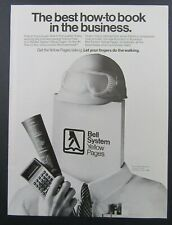 1983 BELL SYSTEM TELEPHONE Yellow Pages Business To Business Magazine Ad
