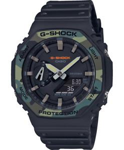 Casio G-Shock ga-2100su-1aer Camouflage NEW Stopwatch Alarm NEW