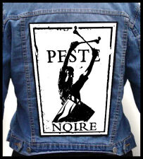 PESTE NOIRE  --- Huge Jacket Back Patch Backpatch