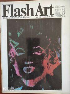 Flash Art International N 101 1981