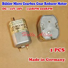 Germany Bühler Gearbox Gear Reducer Motor DC 12V-18V 130RPM-200RPM Slow Speed