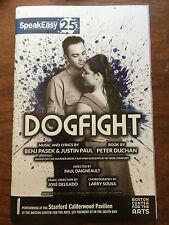 Dogfight playbill/program 2016 Benj Pasek Justin Paul Dear Evan Hansen Boston