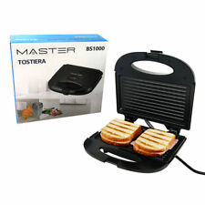 Grille-Pain - Brosse Antiadhérent pour Toast et Barbecue - Électrique 800W