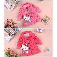 Hello Kitty Cartoon Baby Girls Clothing Set 2Pcs Winter Children Clothing 7M-24M