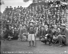 "Photo 1900 Univ California Berkeley ""Axe Rally Mascot"""