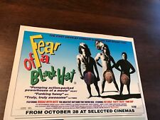 1994 VINTAGE 6X9 MOVIE PROMO PRINT Ad FEAR OF A BLACK HAT HIP HOP RAP SPINAL TAP