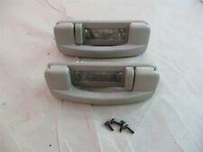 Ceiling Grab Handles PAIR with Light / Hook Graystone 2006-2010 Jeep Commander