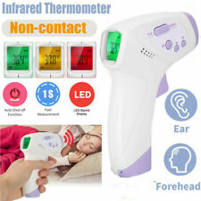 Lcd Digital Infrared Thermometer Non-contact Forehead Ear Body Temperature Gun