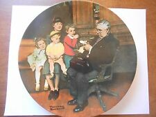 Rockwell Heritage Plate - The Family Doctor