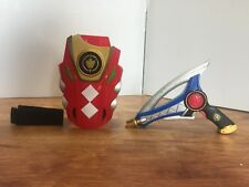 Power Rangers Dino Thunder Raptor Gun And Holder Weapon 2004 Toy Quest