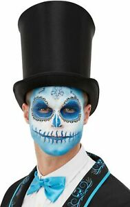 Day Of The Dead Make Up Kit Tattoo Easy Halloween Face Paint Adults Kids