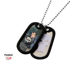 Pendentif Punisher plaques militaires officielles the punisher dog tag pendant