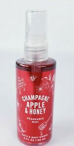 Bath & Body Works Champagne Apple & Honey Fragrance Mist Travel size 3oz New
