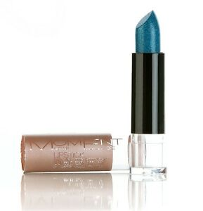 MOMENT MAKE UP Lipstick Party Glitter Brilliant Mothers Day Colours Blue