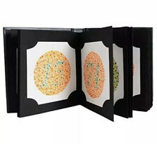 New listing Ishihara Test Chart Books for Color Deficiency 38 Plates latest Edition