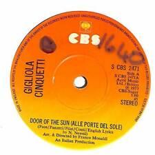 """Gigliola Cinquetti - Door Of The Sun (Alle Porte Del Sole) - 7"""" Vinyl Record"""