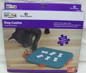 NIB Nina Ottosson by Outward Hound Dog Casino Interactive Treat Puzzle Dog Toy
